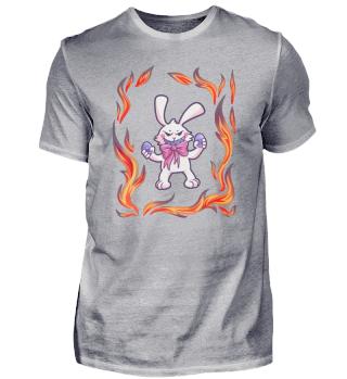 Easter Bunny Easter egg fire gift