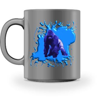 Blauer Gorilla 3 D - Accessoires