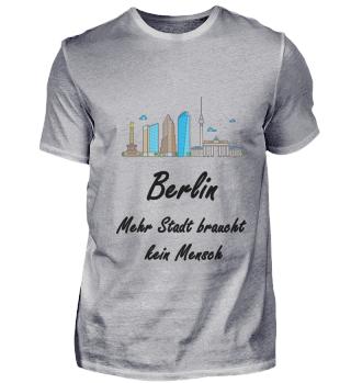 Berlin mehr Stadt braucht kein Mensch