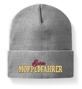 Mütze mit Echte Moppedfahrer Logo