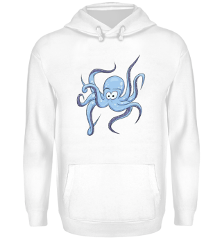 Lustiger Comic Oktopus Kraken Geschenk