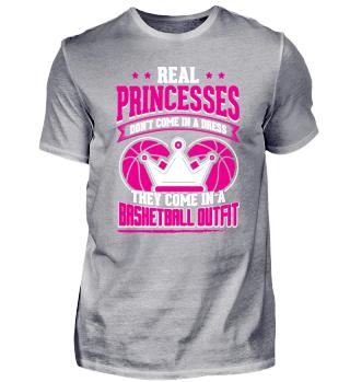 Basketball Basketballer Shirt Princess