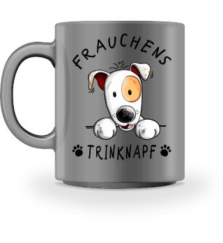 Frauchens Trinknapf Jack Russel
