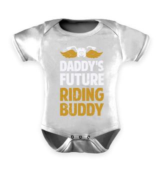 Sohn Motorradfahrer Biker Kinder Shirt