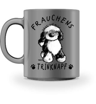 Frauchens Trinknapf Tibet Terrier