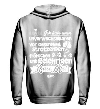 Rasse-Mix, Sweatshirt- und Jacke, Hoodie