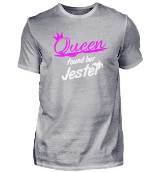 Queen found her jester Polterabend