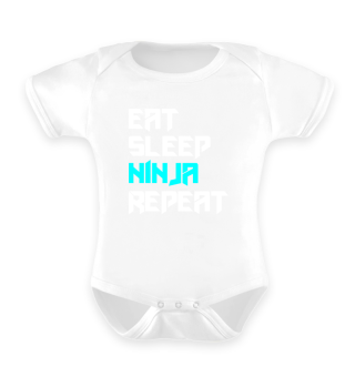 Eat Sleep Ninja Karate Repeat