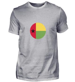 OFFICIAL GUINEA-BISSAU FLAG CIRCULAR