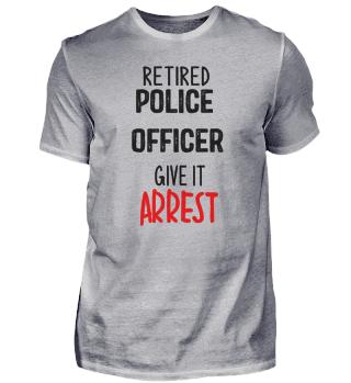 aresztowany emerytowany policjant