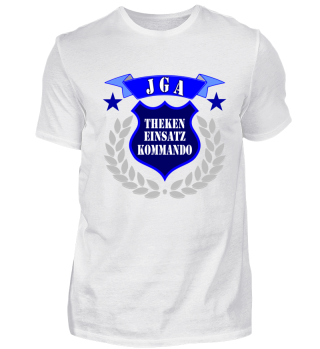JGA T-shirt: Theken EInsatz Kommando