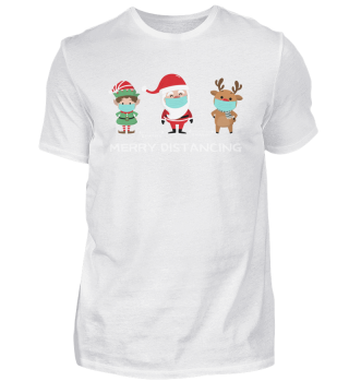 Frohe Weihnachten - Merry Distancing