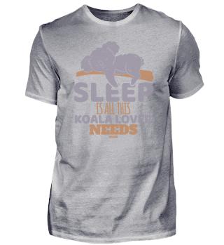 Sleep Is All This Koala Lover Needs