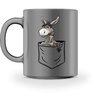 Bockiger Esel in Deiner Tasche