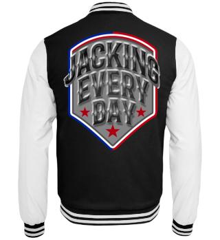 Herren College Jacke Jacking Every Day Ramirez Hip Hop