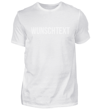 Angebot T-Shirt mit Wunschtext