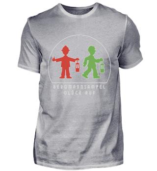 Herren Premium Shirt – Glück Auf