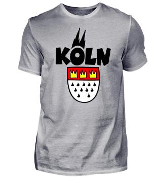Köln Wappen mit Kölner Dom