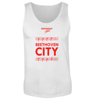 herren tank top beethoven city