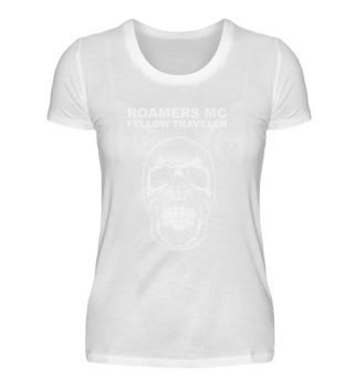 ROAMERS MC - Fellow Skull Lady | black