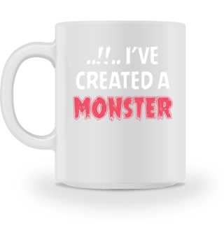 Eltern Kind Partnerlook Monster Tasse