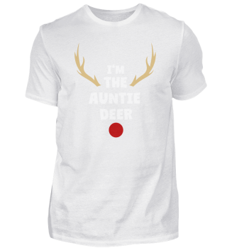 Auntie Deer Matching Family Christmas