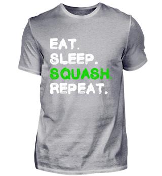 Eat Sleep Squash Repeat Shirt