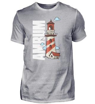 Amrum lighthouse North Sea island sea re