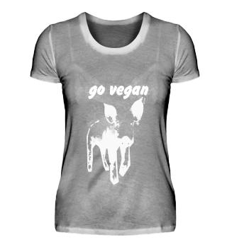 Damen: go vegan, Ferkel