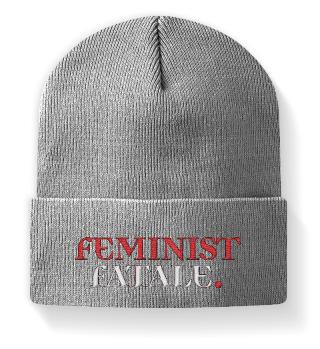 FEMINIST FATALE beanie