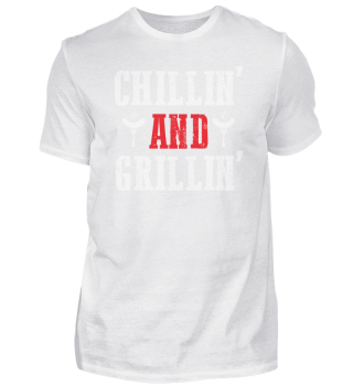 Chillin and grillin| BBQ Summer