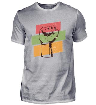 Revolution Fist, Black History