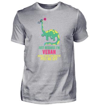 Veganer Dinosaurier Pflanze bio Geschenk