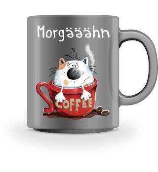 Morgääähn Katze - Morgenmuffel - Comic