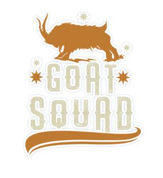 Goat Squad Group Goat