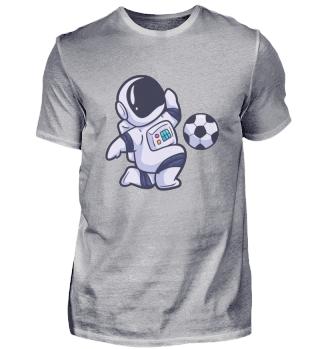 Astronaut Fussball Spaß Sport Weltraum