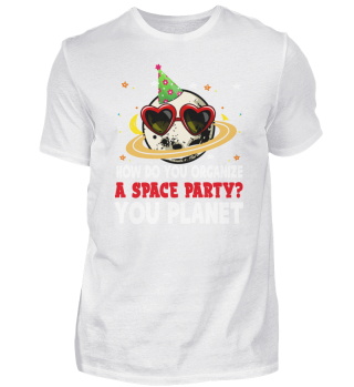 Space Party Earth Planet Moon Space