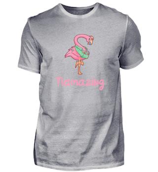 Flamazing Urlaub Flamingo Geschenk