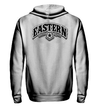 Herren Zip Hoodie Sweatshirt Eastern Ramirez
