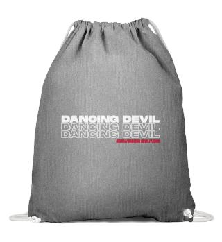DANCING DEVIL Baumwoll Turnbeutel
