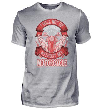 Lustiges Motorrad T-Shirt Geschenk