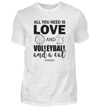 Volleyball Sports Team Team Cat Gift
