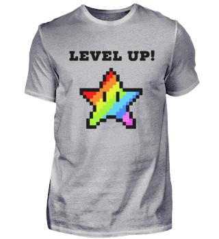 Level Up! Zocker Motiv