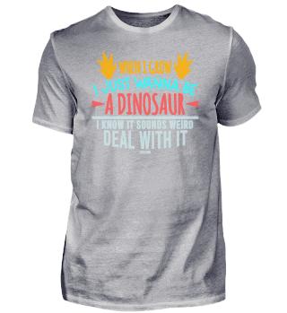 lustiger Dinosaurier Spruch