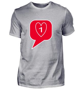 Du hast einen neuen Like, lustiges Shirt, funny, humor, witzig, cool