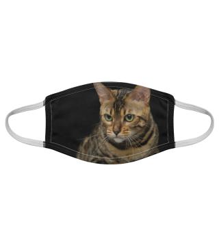 Gesichtsmaske mit Katzenmotiv 20.77