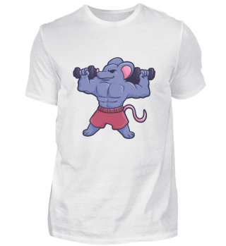 Mouse Gym Fitness Workout gift sports