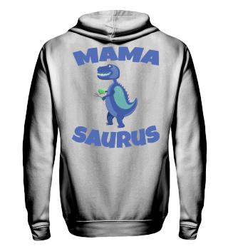 Mama Saurus Partnerlook Mutter Hoodie