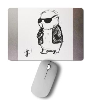 M.G. Big Boss Mousepad 1