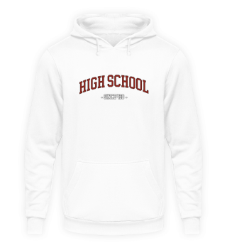 HIGH SCHOOL 420 Hoody Kaputzenpullover